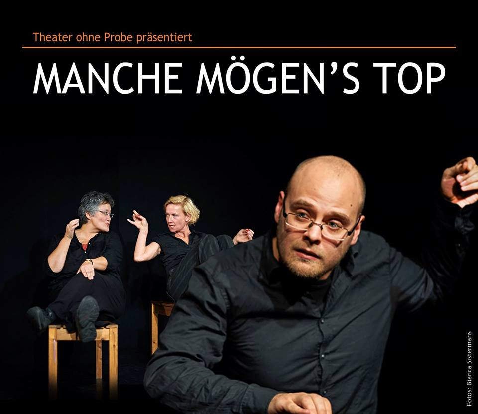 Theater ohne Probe: Some like it ToP! - Thursday Comedy (in engl. Sprache)